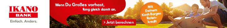 Kash Borgen Ratenkredit Werbebanner