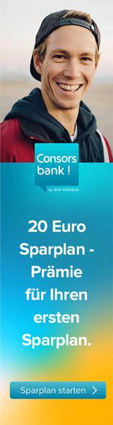 ConsorsBank Sparplan