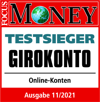 DKB - Focus Money - Testsieger Girokonto 2019