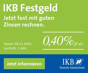 IKB Festgeld Nov 2016