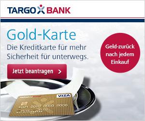 Targobank Gold Karte beantragen