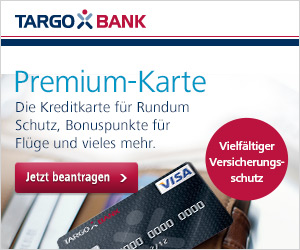 Targobank Premium-Karte als Motivkreditkarte
