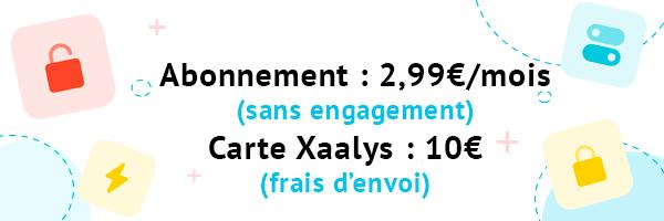 Xaalys Néo banque 2021 pour ado