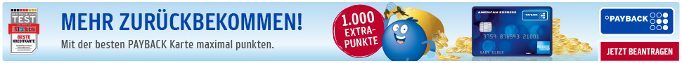 Amex Payback Banner 2000 Punkte
