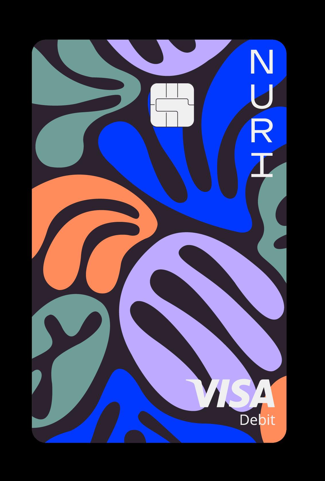 Nuri VISA-Debitkarte