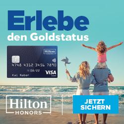 Hilton Honors Visa Card kostenlos im Ausland zahlen