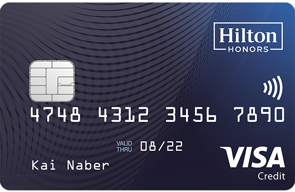 Hilton Honors Credit Card 600x391