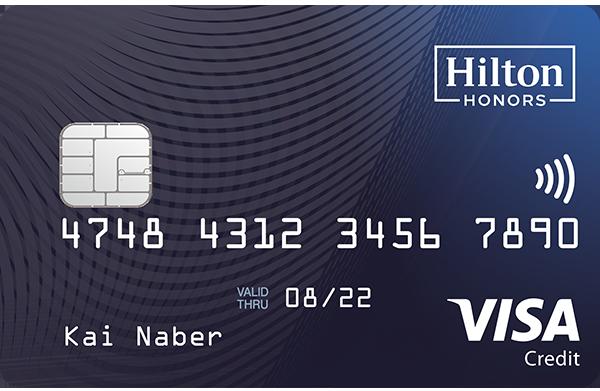 Hilton Honors Credit Card 600x391