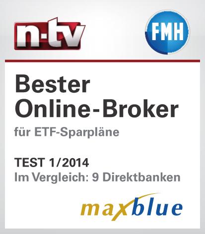 n-tv Testsiegel Bester Onlinebroker