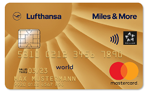 Miles and More Kreditkarte Gold mit Mietwagenvollkasko