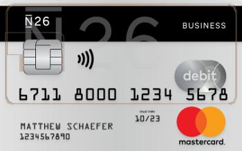 N26 Business Mastercard & Debit.