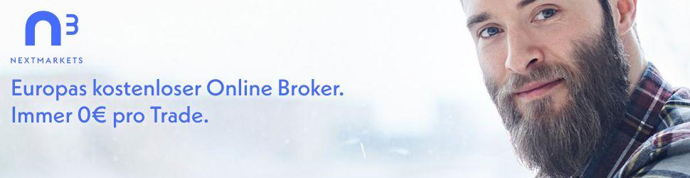 Europas kostenloser Online Broker. Immer 0 € pro Trade. nextmarkets.