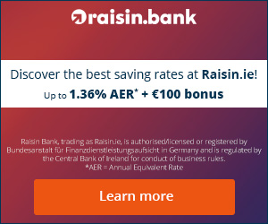 Raisin Ireland Fixed Savings Account