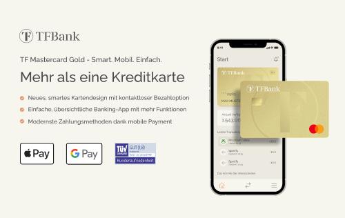 TF Mastercard Gold mit Reisekomfortversicherung beantragen