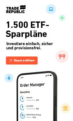 Trade Republic Aktien Sparpläne
