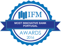 Bank BNI - IFM Awards 2016. Most innovative Bank Portugal.